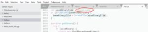 Hello source JS